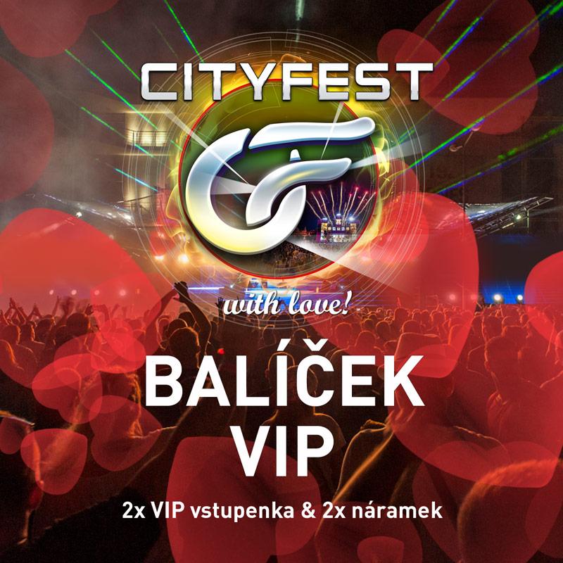 CityFest 2019 - Valentýn VIP