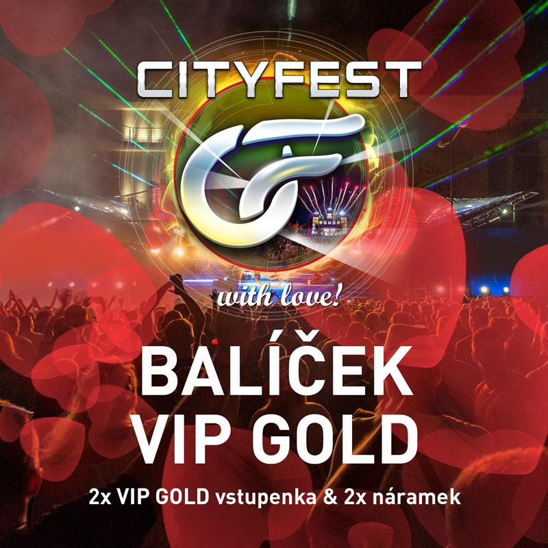 CityFest 2019 - Valentýn VIP GOLD