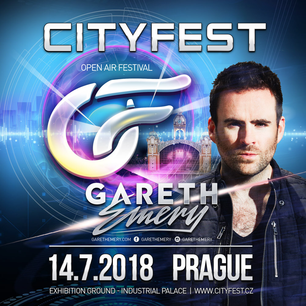 Gareth Emery back in Czechia