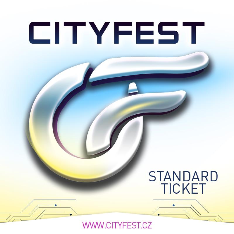 CityFest 2019 - Standard Ticket + náramek